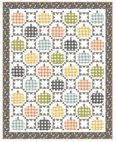 *NEW* Autumnal Quilt Kit
