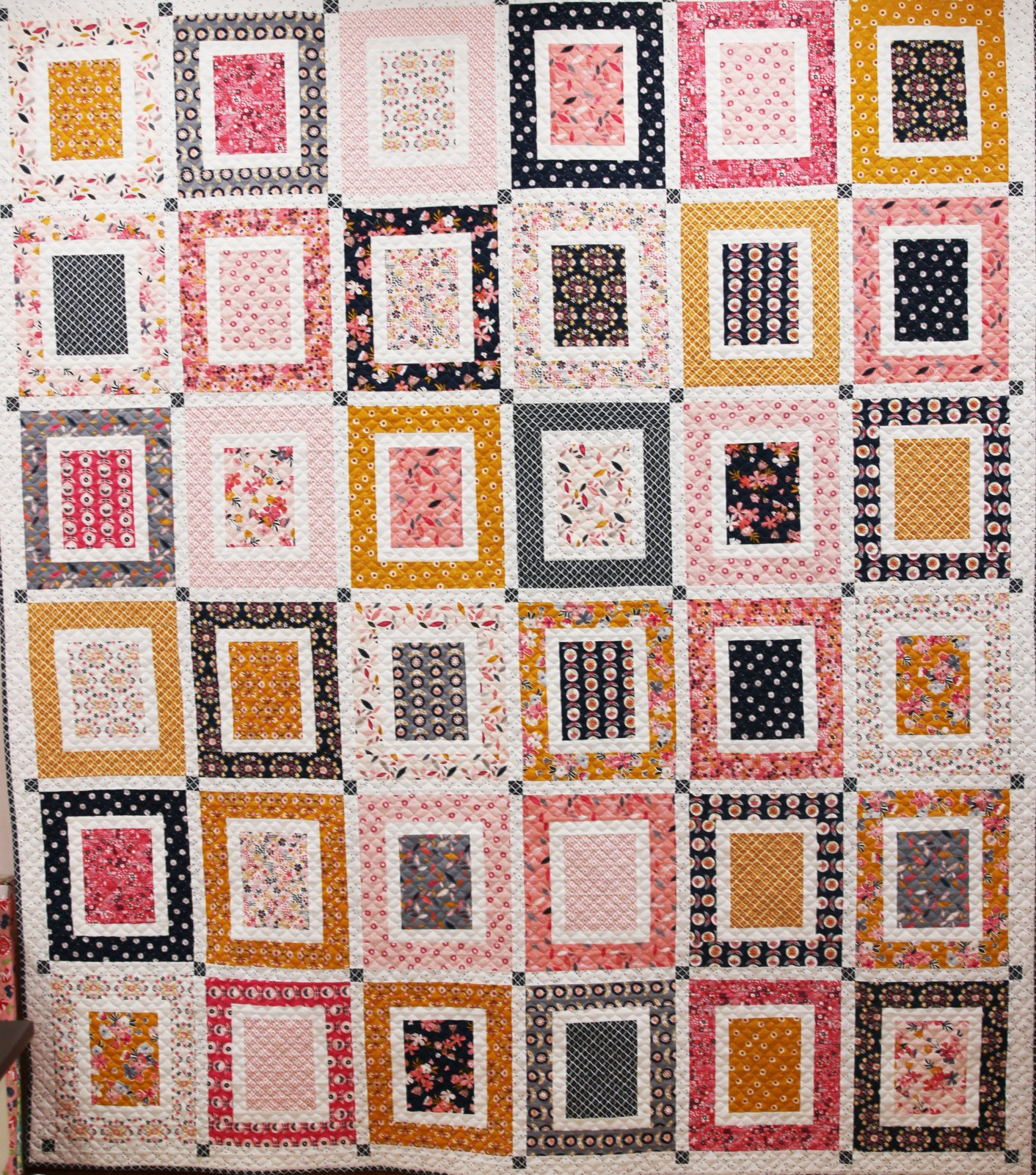 Front & Center Quilt Kit featuring Aria & Ava Patterns