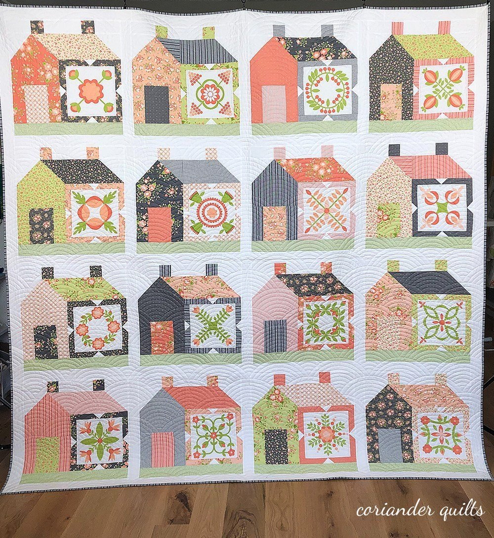 Friendly Neighborhood Quilt Kit by Corey Yoder of Coriander Quilts for Moda Fabrics
