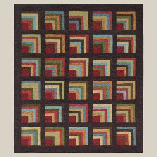 Cabin Fever Quilt Kit by All Through The Night