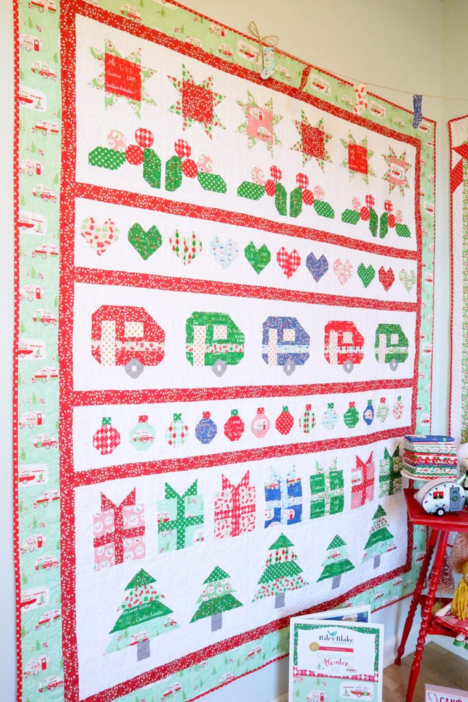 Christmas Adventure Quilt Kit & Sew Along ~ Beverly McCullough for Riley Blake