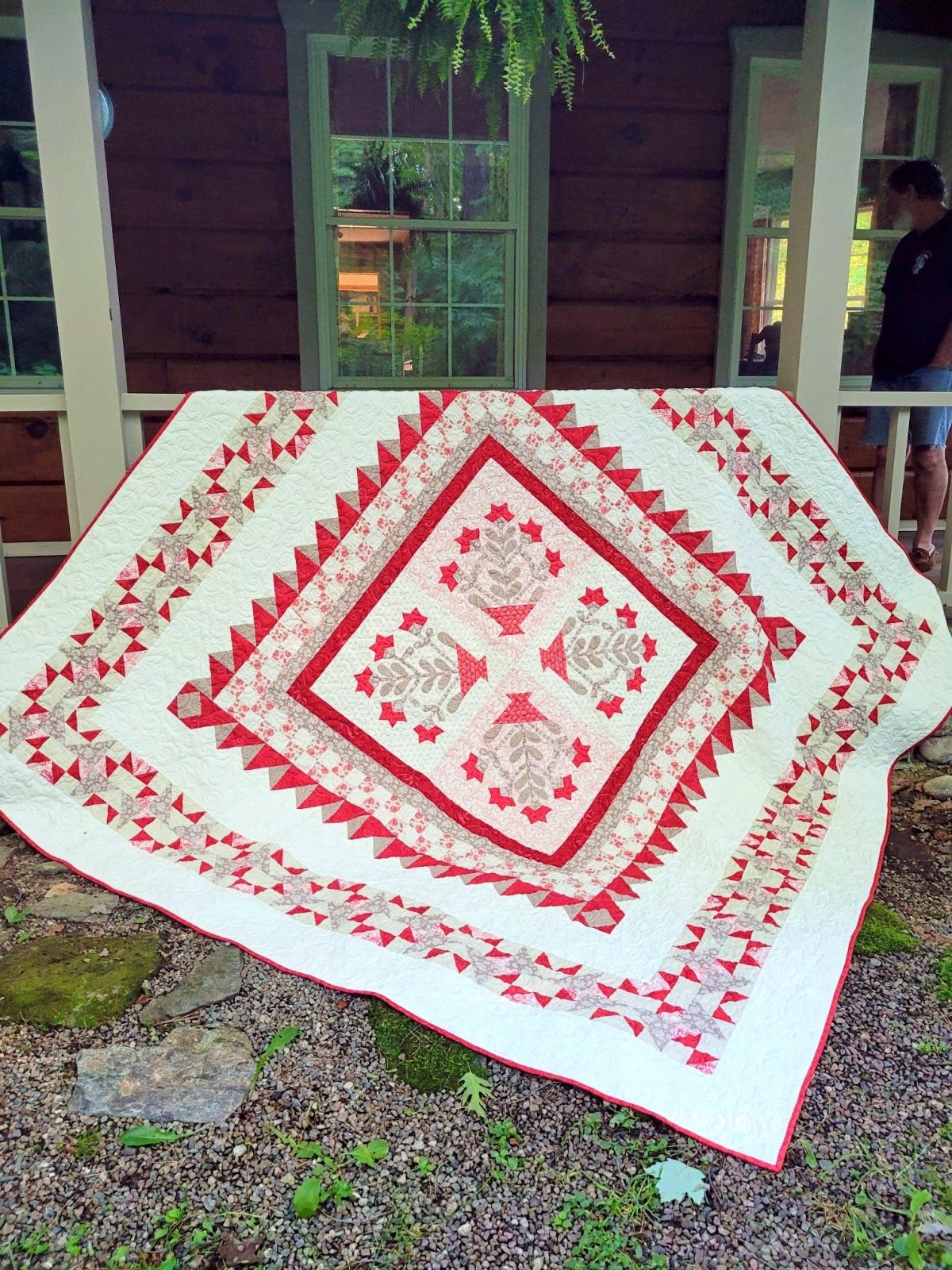 *NEW*  Cranberry Frost Block of the Month Full Kit