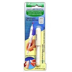 Clover Chaco Liner Pen - White