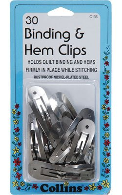 Collins Binding and Hem Clips