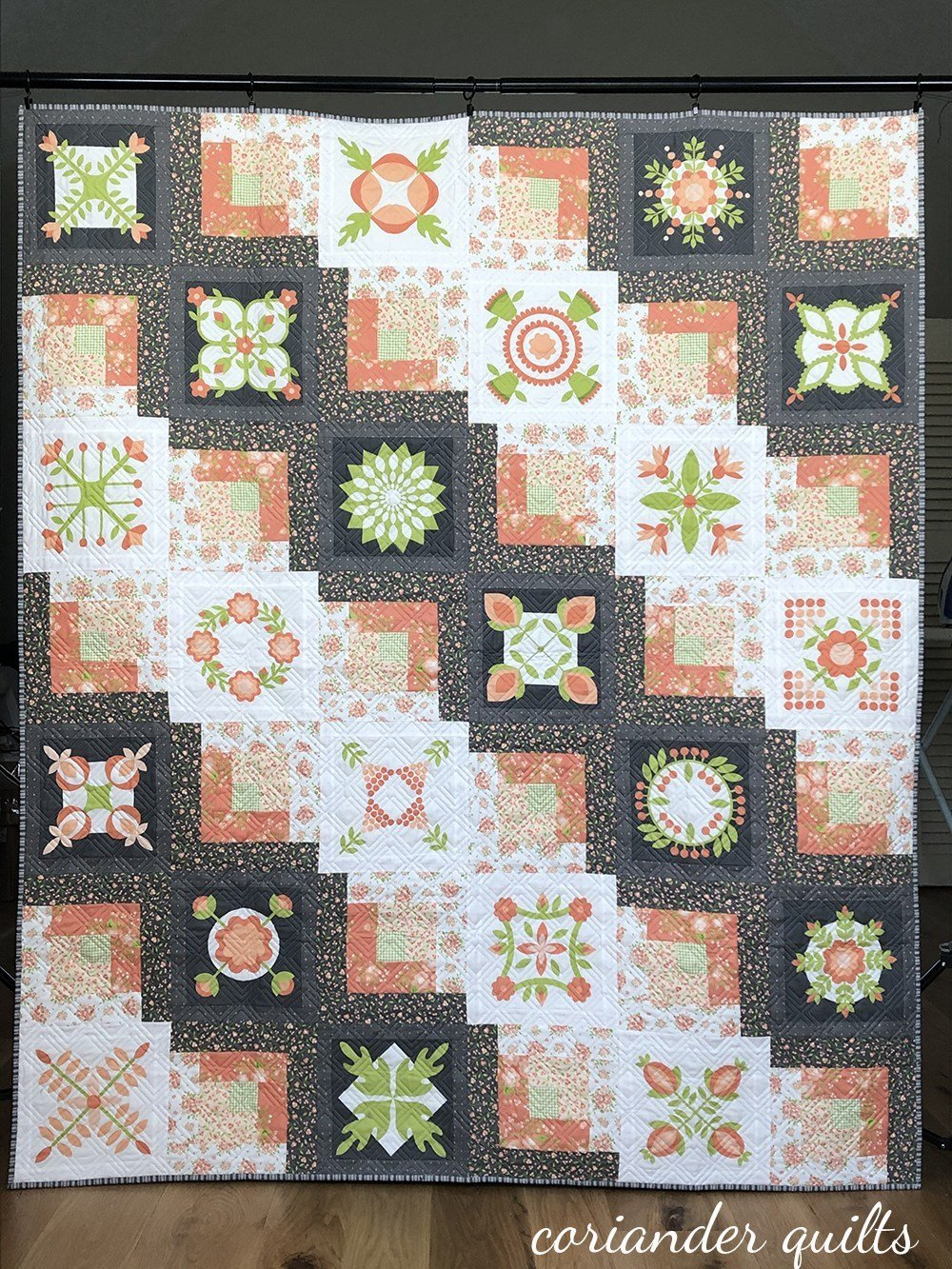 Easy Peasy by Corey Yoder of Coriander Quilts for Moda Fabrics