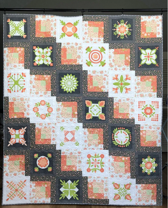 Easy Peasy by Corey Yoder of Coriander Quilts for Moda