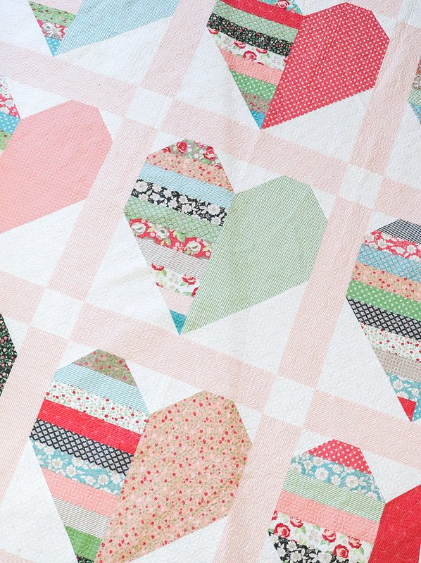 Heartthrob Kit by Vanessa Goertzen of Lella Boutique for Moda Fabrics