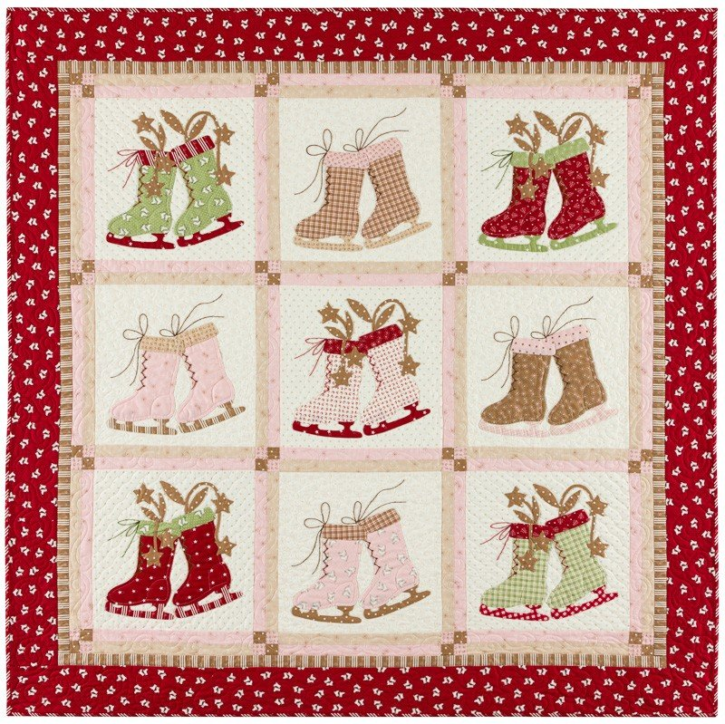 Icicle Days Quilt Kit by Bunny Hill