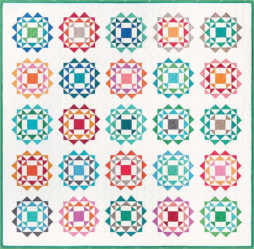 Kaleidoscope Quilt Kit