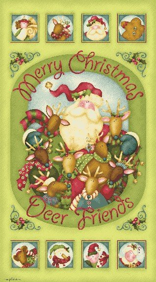 Jingle All The Way by Benartex 04520-40