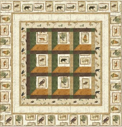 Lodge Windows Quilt Kit