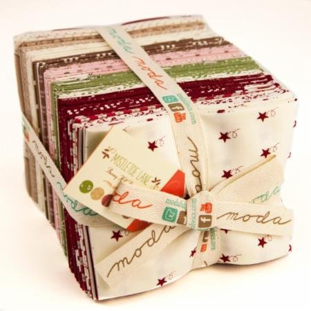 Mistletoe Lane Fat Quarter Bundle by Bunny Hill Designs for Moda