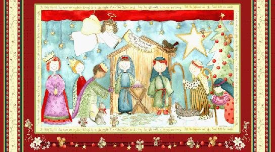 Oh Holy Night Panel 9407-88 by Henry Glass & Co.