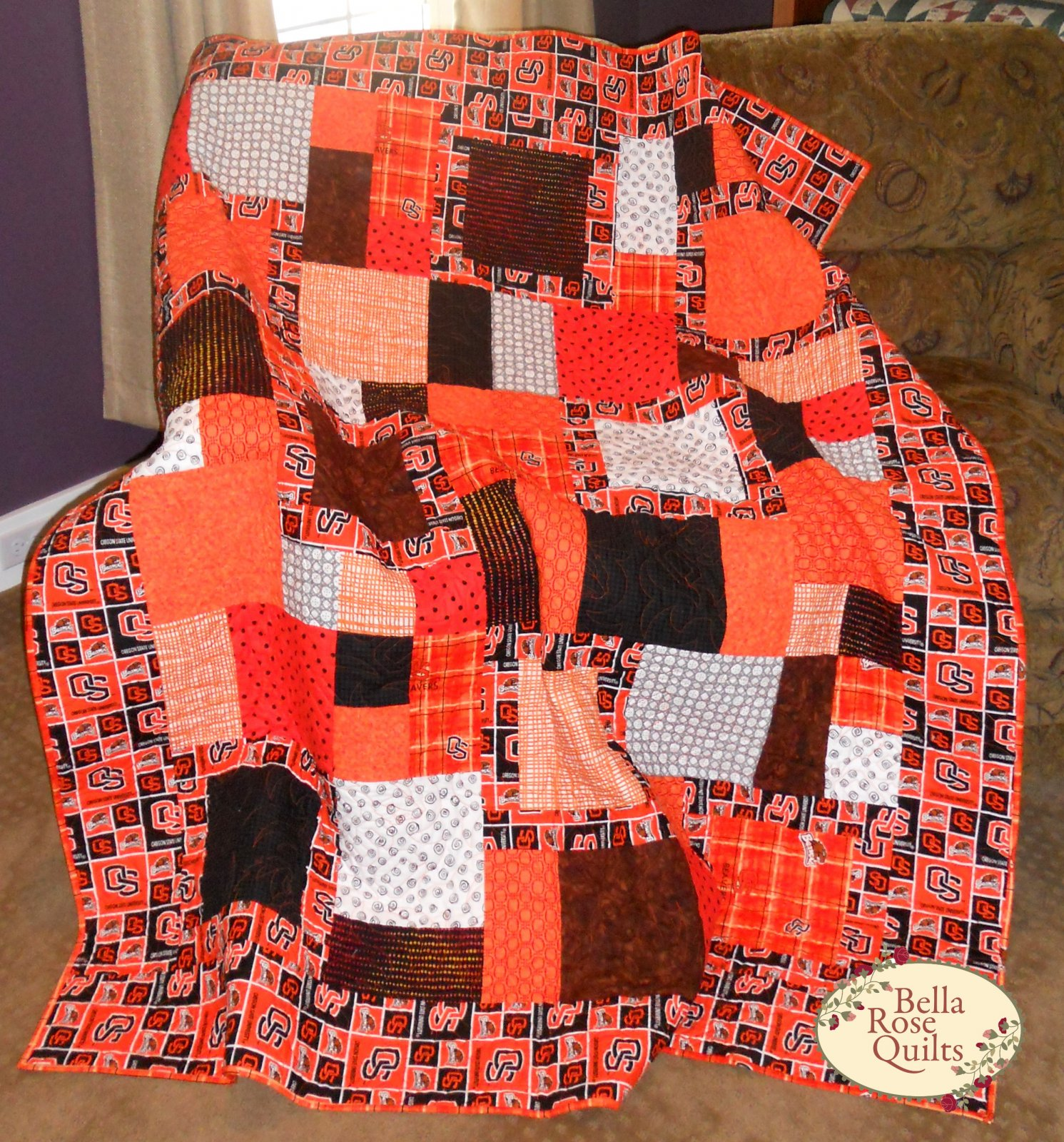 Oregon State Beavers Quilt Kit