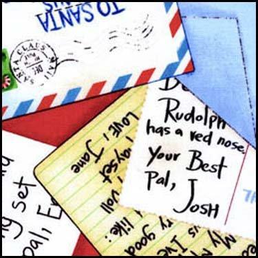 Postcards to Santa Quilt Kit