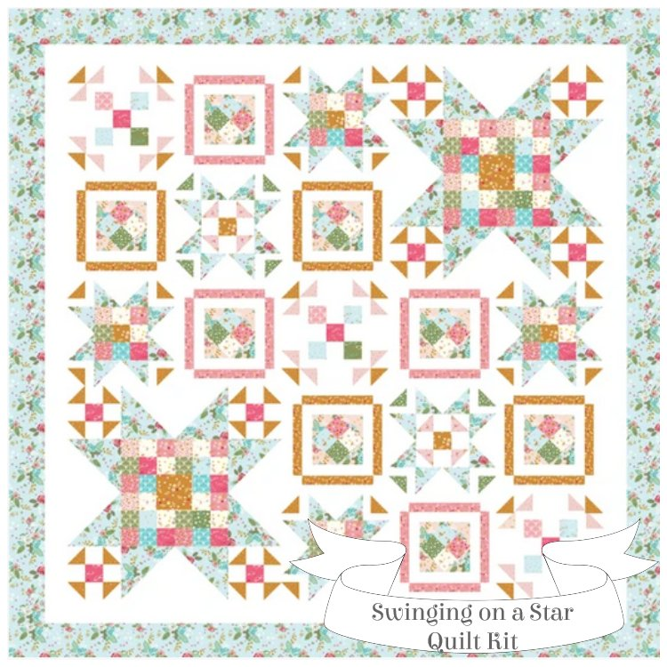 Swinging on a Star Sew-Along Boxed Quilt Kit