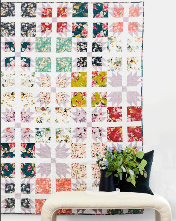 Wildflower Sachet Quilt Kit