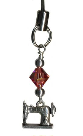 Scissor Pals Sewing Machine Charm