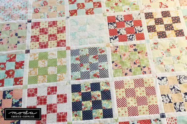 Short and LongJelly Roll Quilt Free Pattern Download