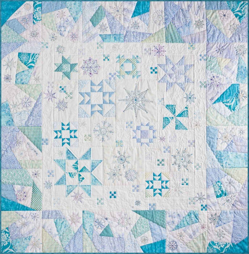 Snow Flurries Quilt Kit