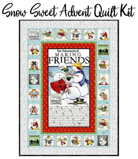 Snow Sweet Advent Calendar by J. Wecker Frisch for Riley Blake Fabrics
