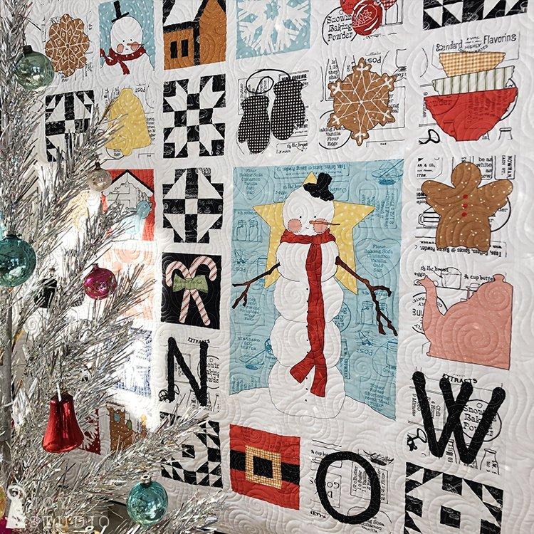 Sweet Snow-A-Long by J. Wecker Frisch for Riley Blake Fabrics