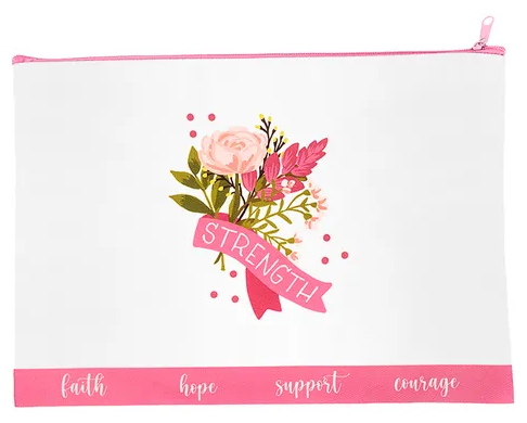 Hope In Bloom Bouquet Canvas Bag