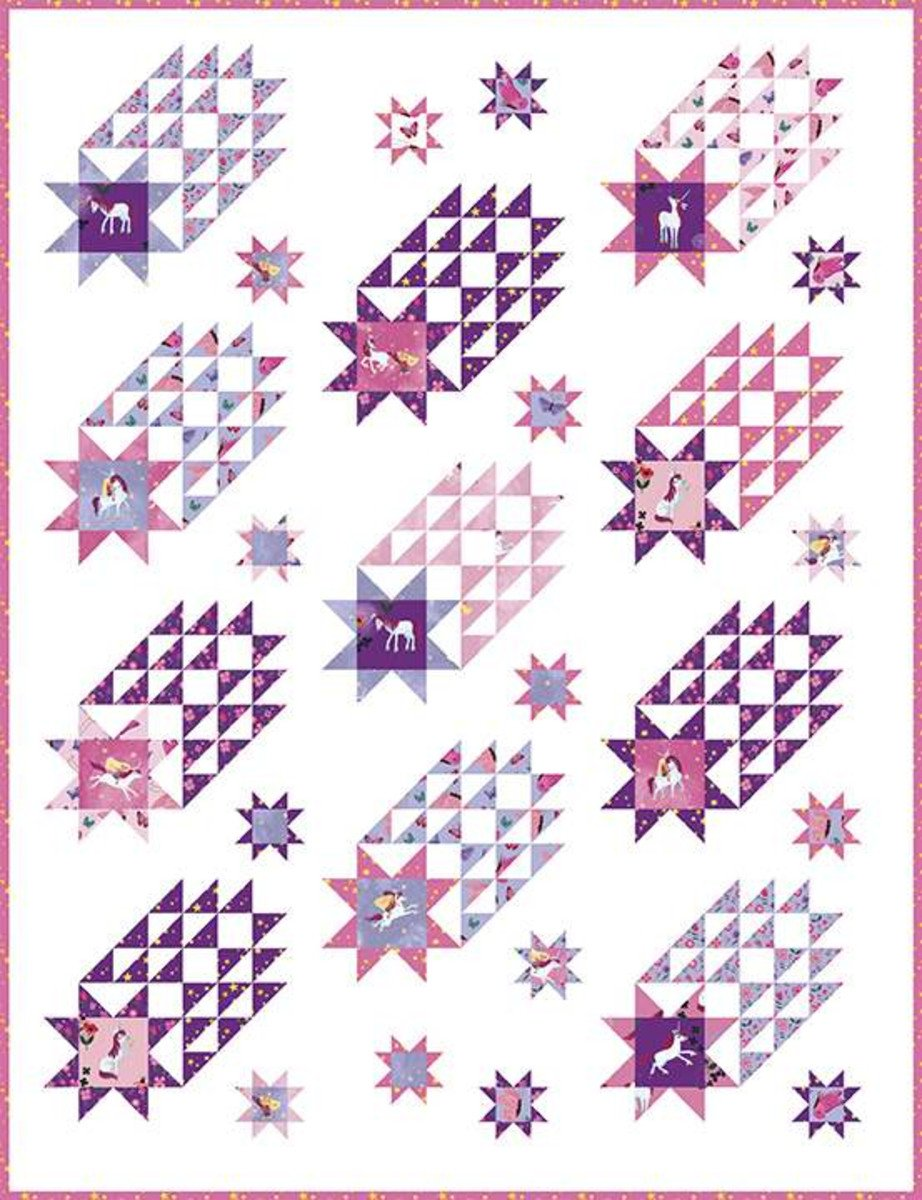 Star Stream Quilt Kit