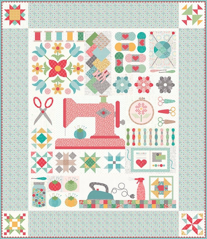 *Pre-Order* My Happy Place Sew Along Quilt Kit