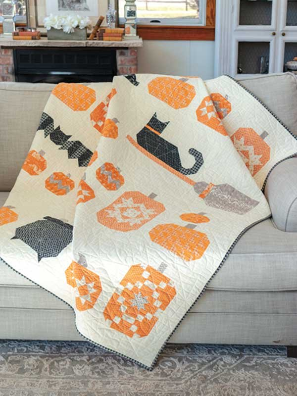 Witches Night Out Quilt Kit
