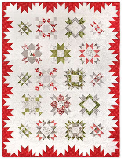 *NEW* Christmas Among the Stars Quilt Kit