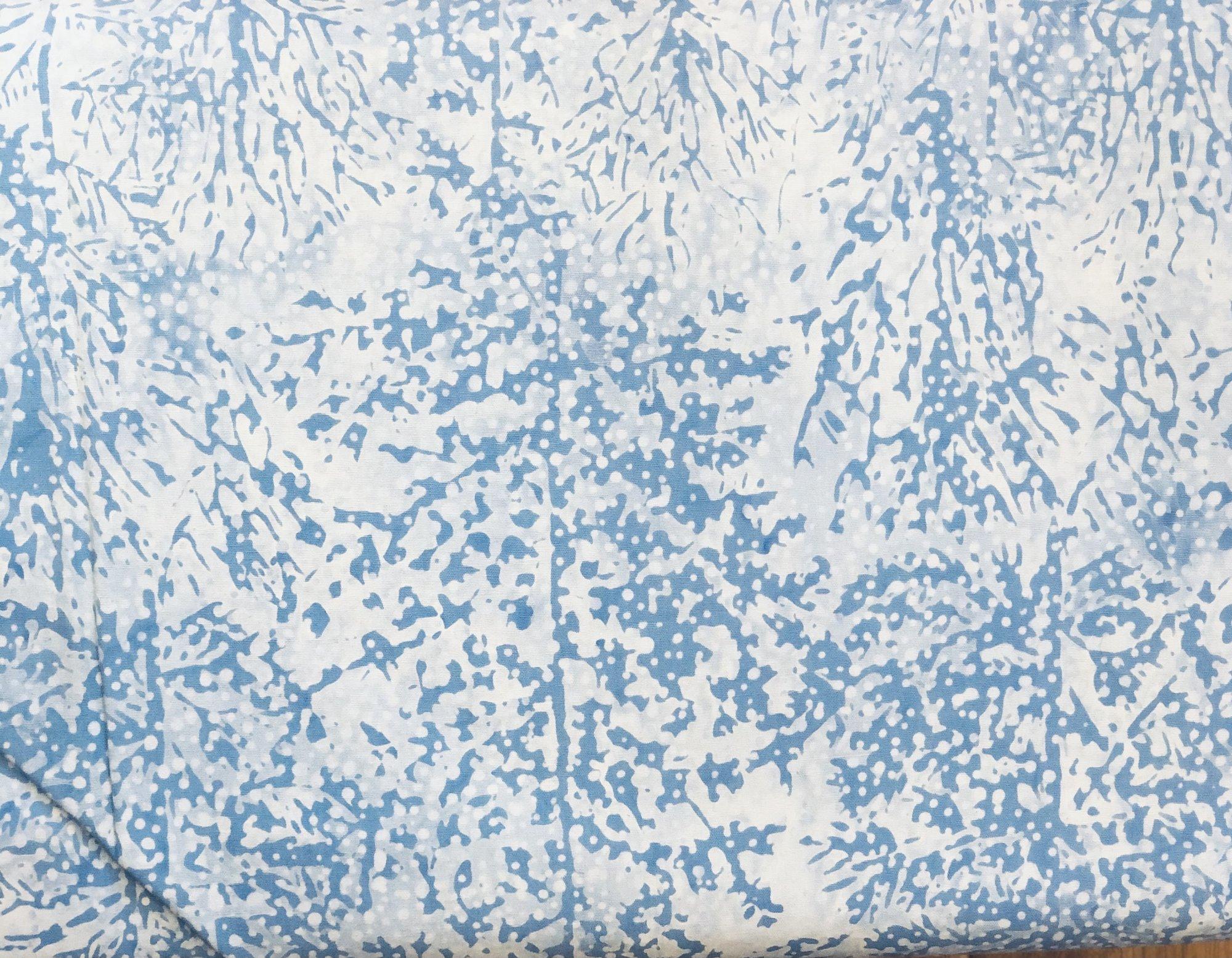 BATIK SNOWY FOREST BLUE HS14CD1 Island Batik