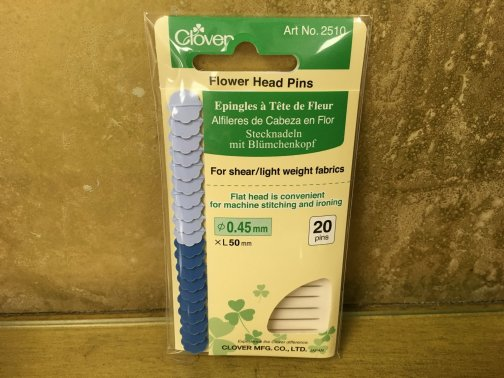 Clover Flat Head Pins
