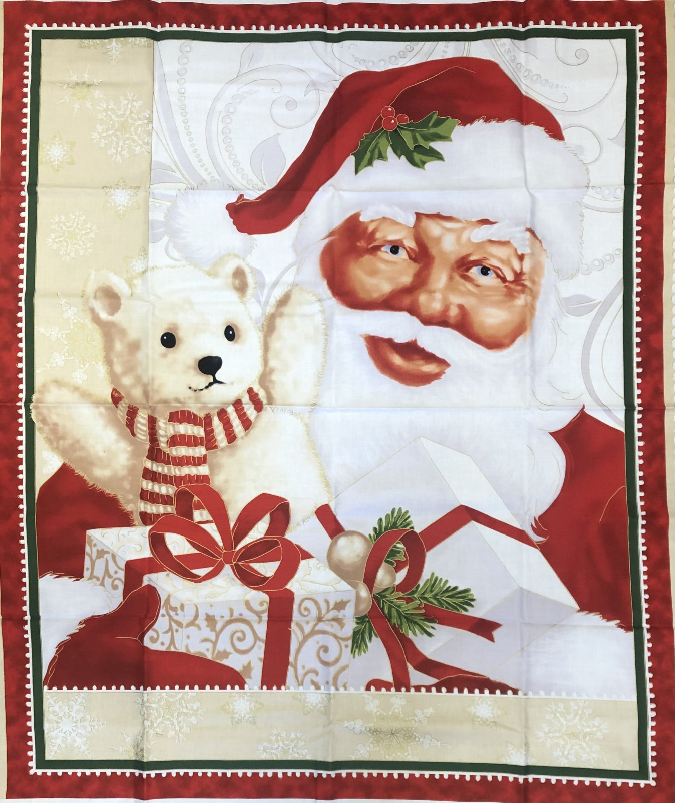 JOLLY OLD ST. NICK PANEL Quilting Treasures QT