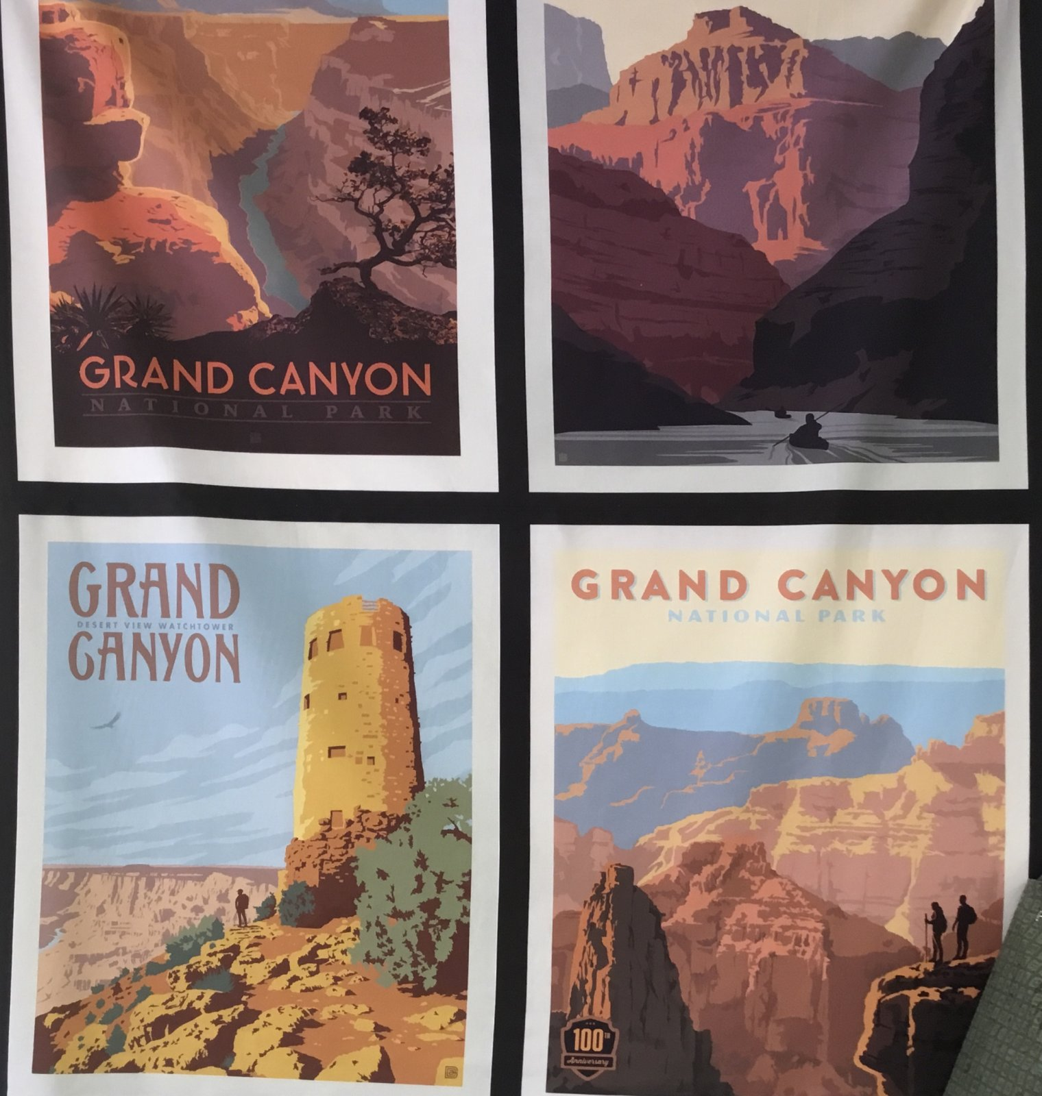 GRAND CANYON PILLOW PANEL  NATIONAL PARKS  PP8936 by Riley Blake