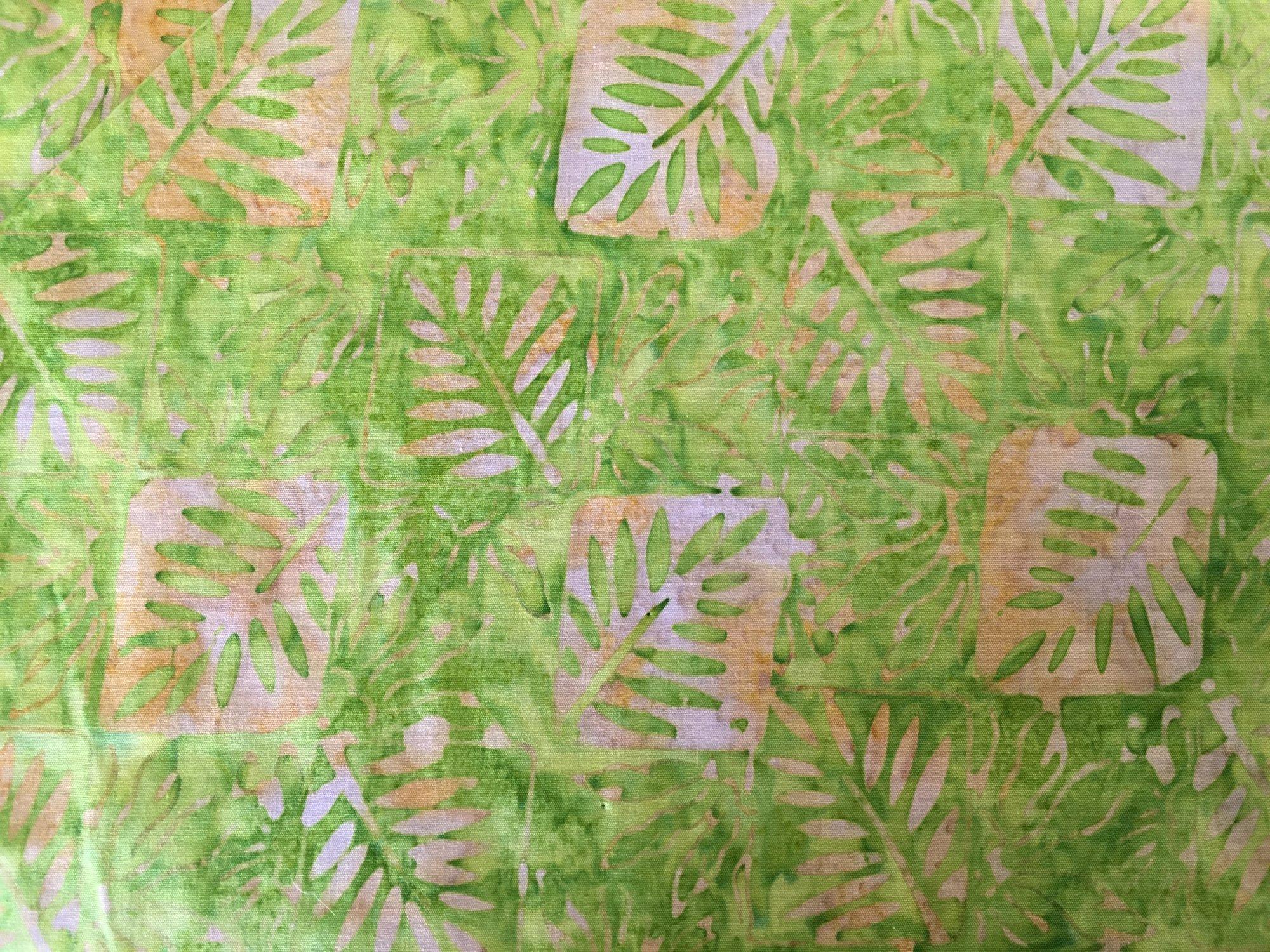 BATIK FRAMED FERN GREEN SAND 3290 Anthology