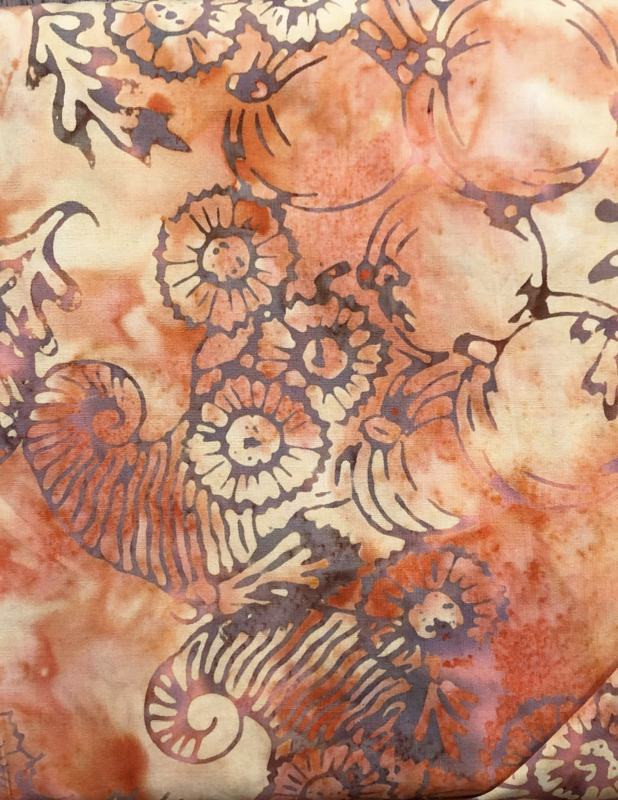 BATIK CORNUCOPIA GOLD/ORANGE CB246 Majestic Batiks