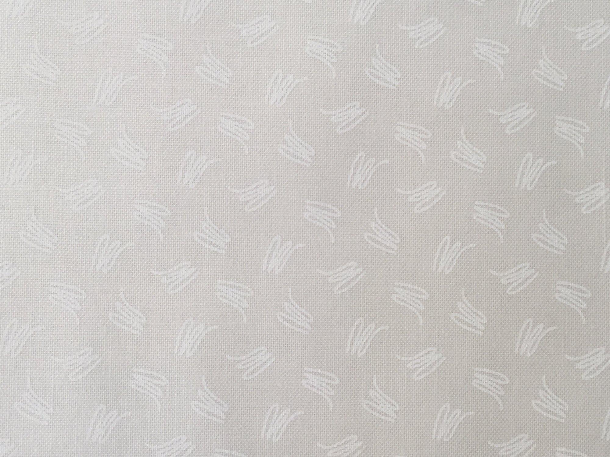 RAMBLINGS 11 WHITE SQUIGGLES ON NEUTRAL  RA110077901 P&B Textiles