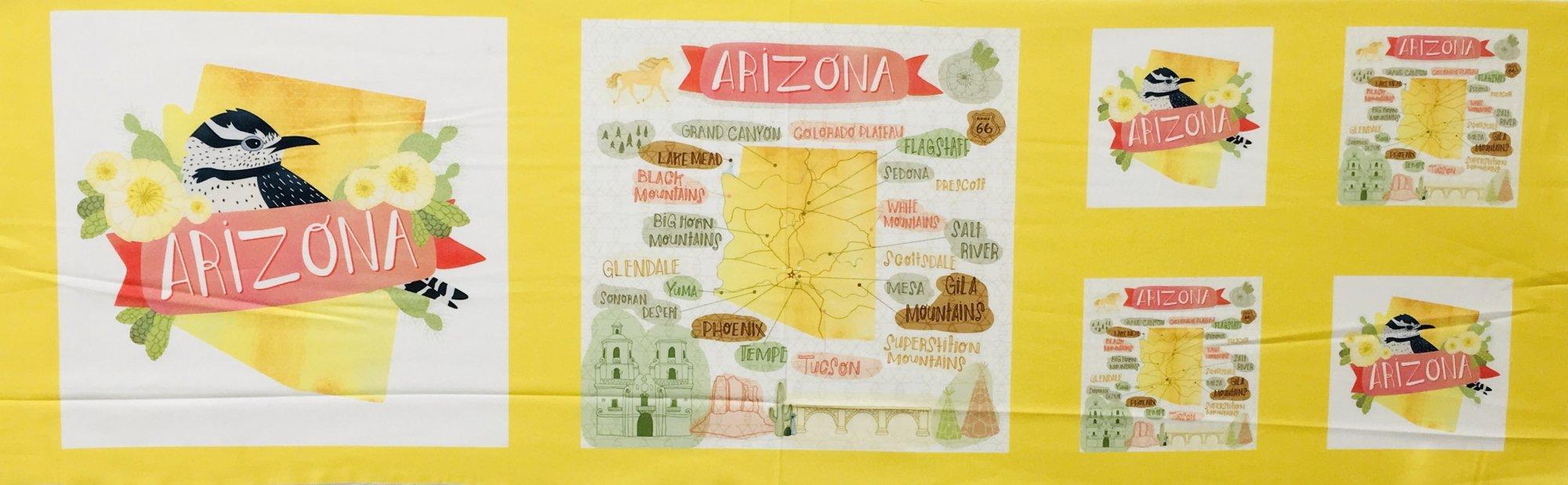 DESERT SONG ARIZONA PANEL by Moda