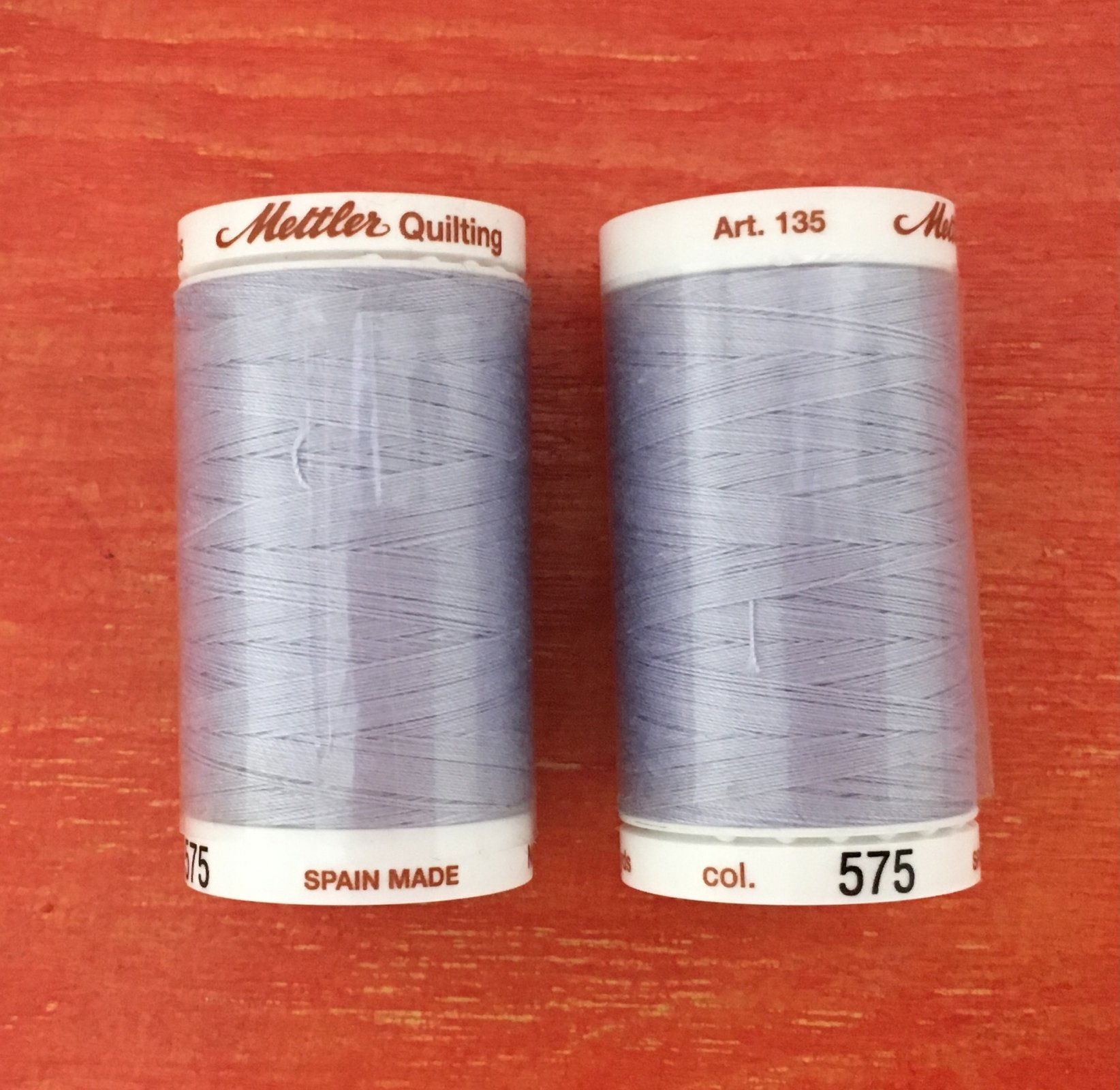 METTLER COTTON THREAD COLOR #575. 40 Weight 500 Yards