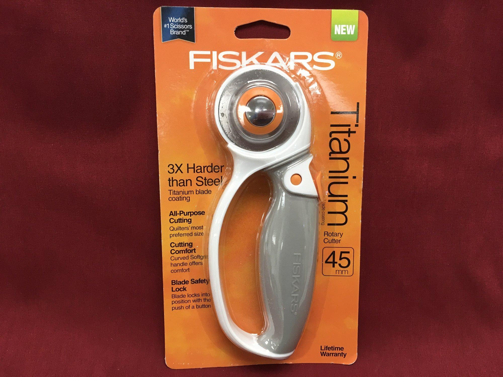 Fiskars Titanium Rotary Cutter 45mm