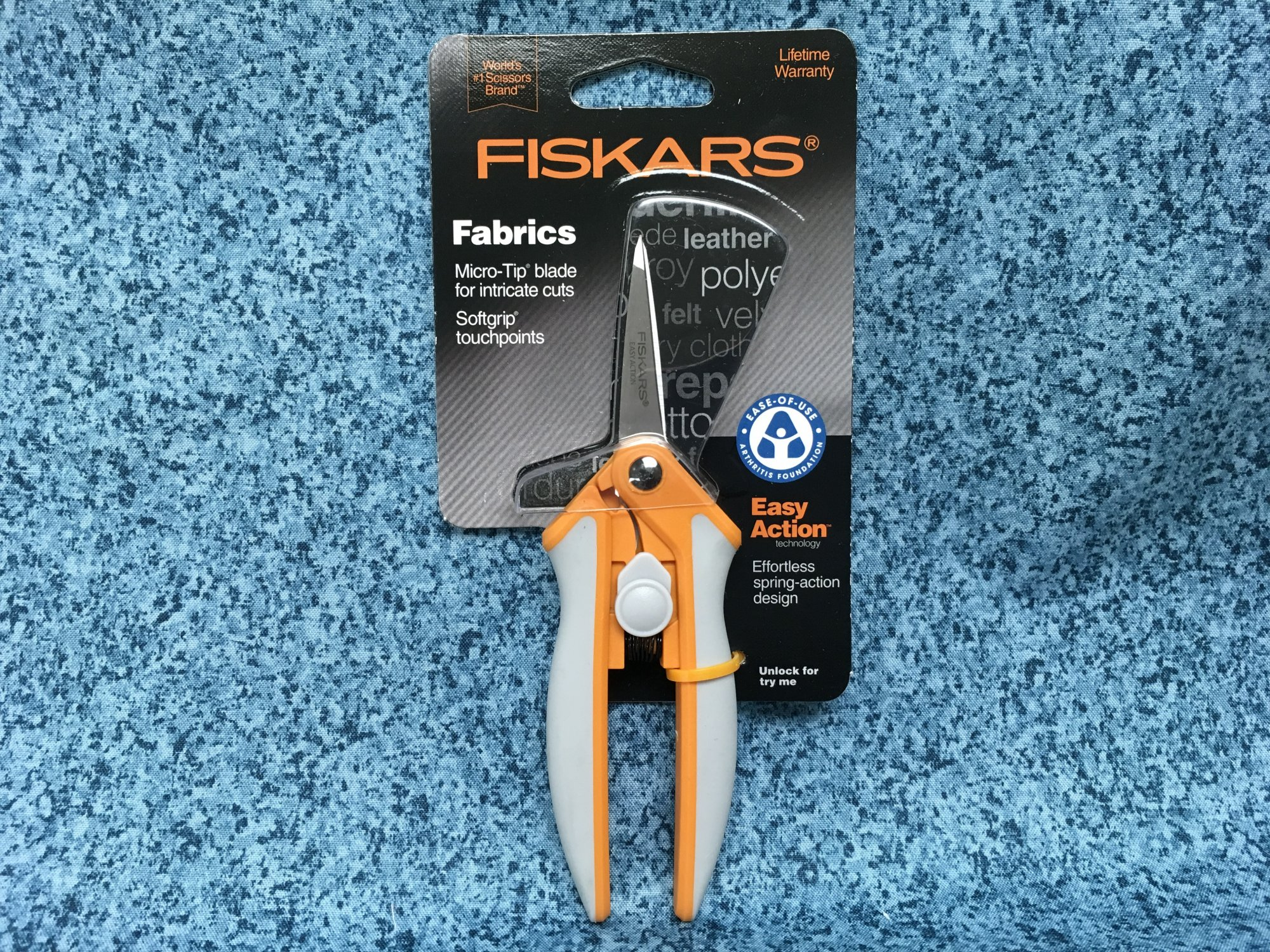 5in Easy Action Micro Tip Scissors by Fiskars
