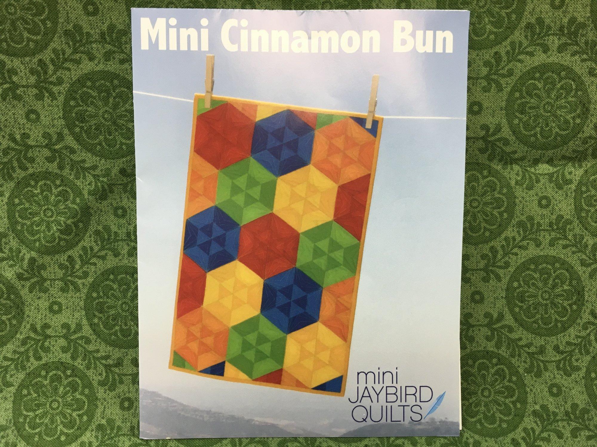 Mini Cinnamon Bun Pattern. Jaybird Quilts