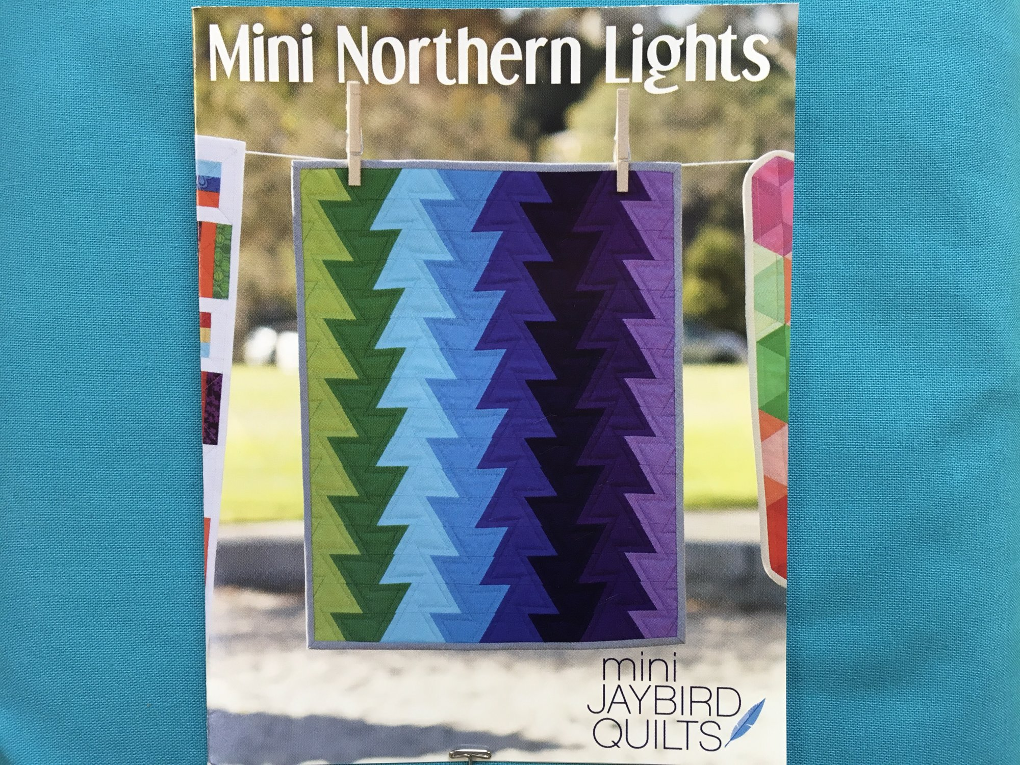 Mini Northern Lights Pattern. Jaybird Quilts