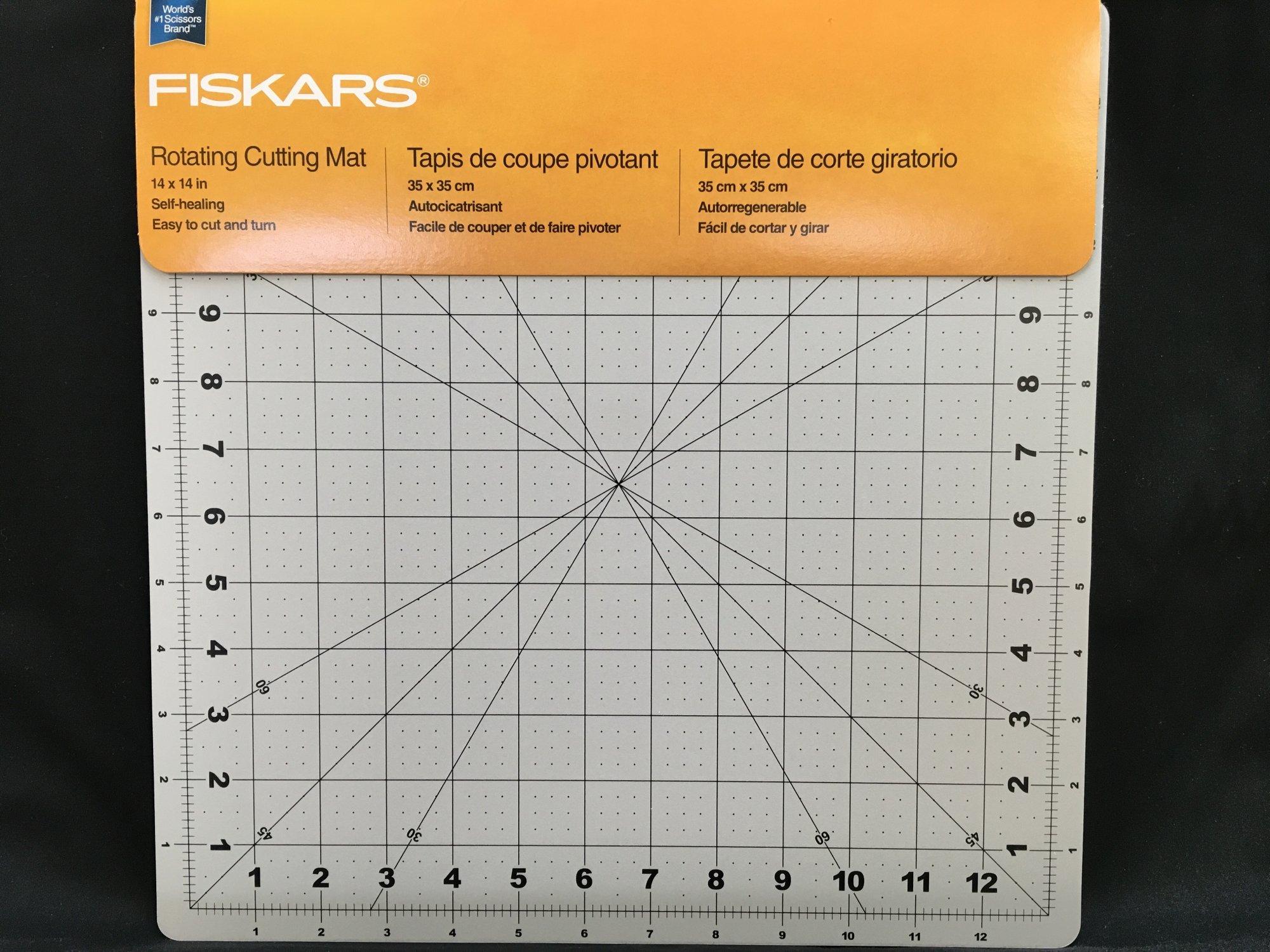 Fiskars 14x14 Rotating Cutting Mat