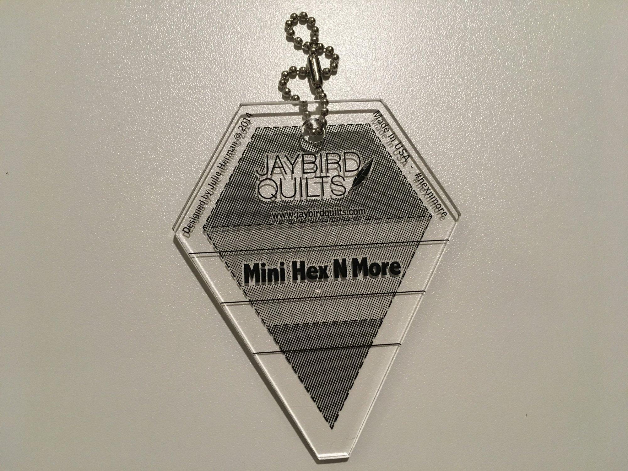 MINI HEX N MORE RULER by Jaybird Quilts JBQ203
