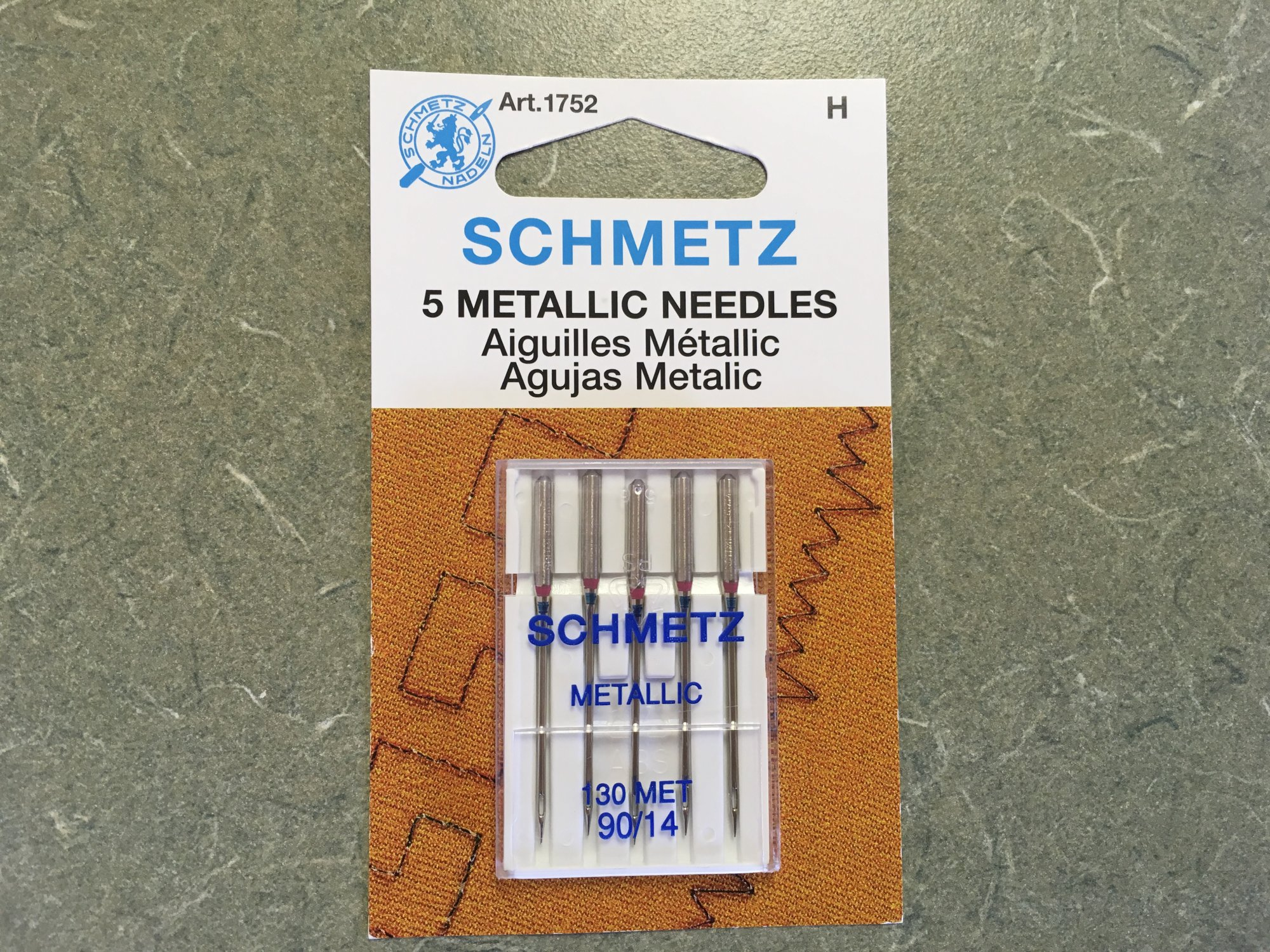Metallic Needles 90/14 (5 pk) 1752