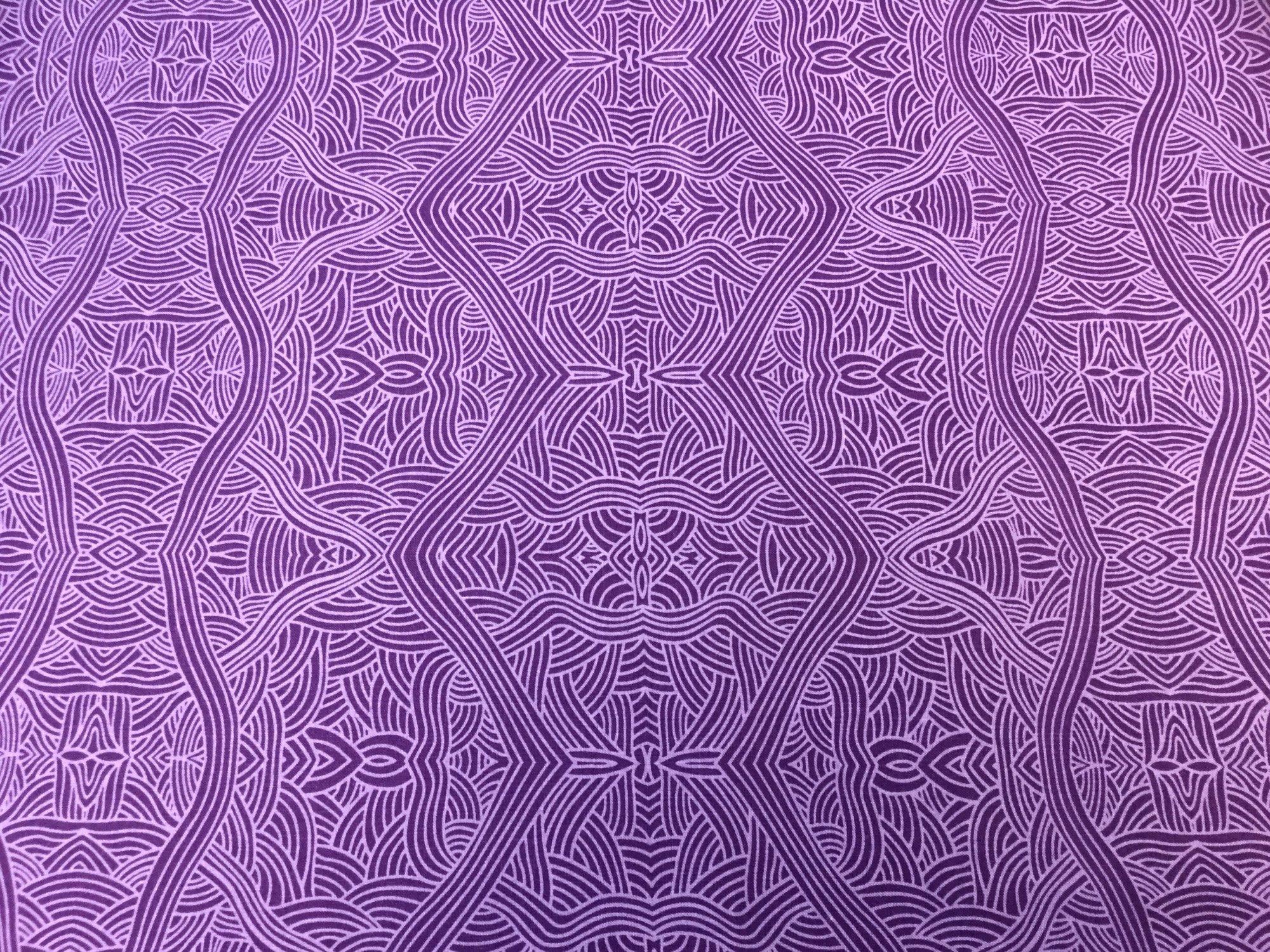 UNTITLED PURPLE UNP by M&S Textiles