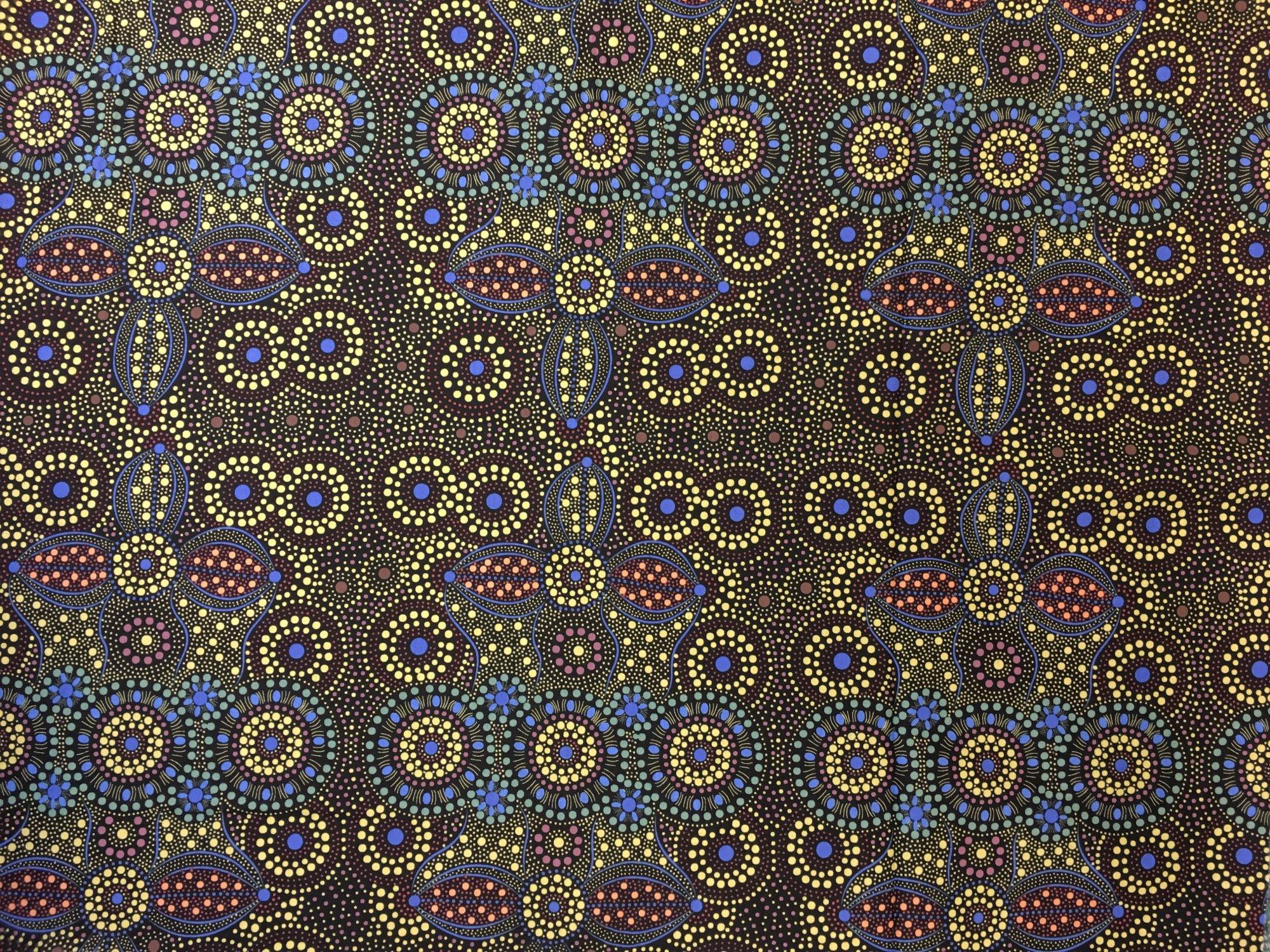 SPIRIT PLACE BLACK by M&S Textiles