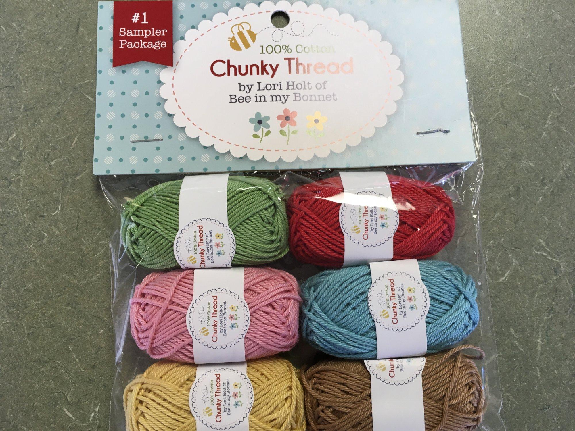 Chunky Thread #1 Sampler 6 pack STCT8526